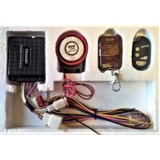 Мото аларма с дистанционно палене (със схема)